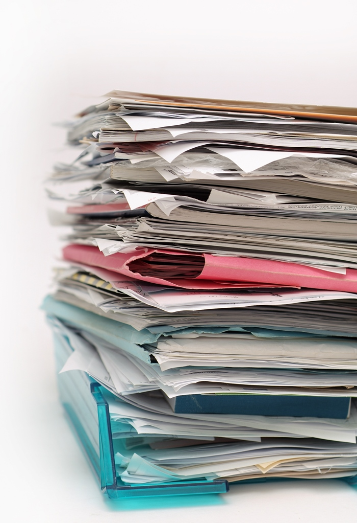 una sencilla regla para gestionar el papel ebocame