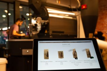 Tienda de café online